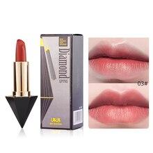 Купить с кэшбэком UBUB Matte Lipstick Red Lips Makeup Brand Waterproof Long Lasting Velvet Lip Stick Korean Cosmetics 6 Colors Lipsticks Kit