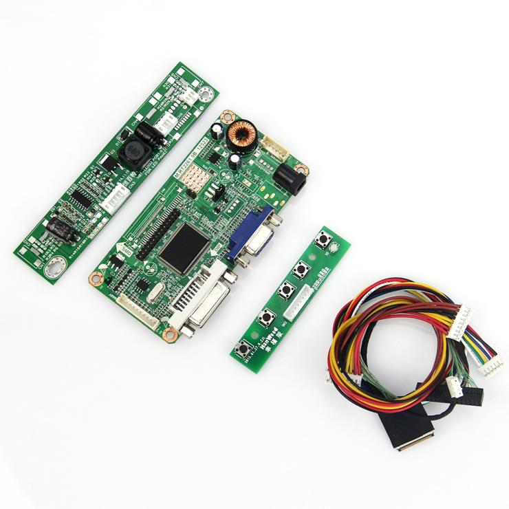 LCD Controller Board (VGA DVI) For LP133WX3-TLA6 LTN133AT09 13.3 Inch 1280*800