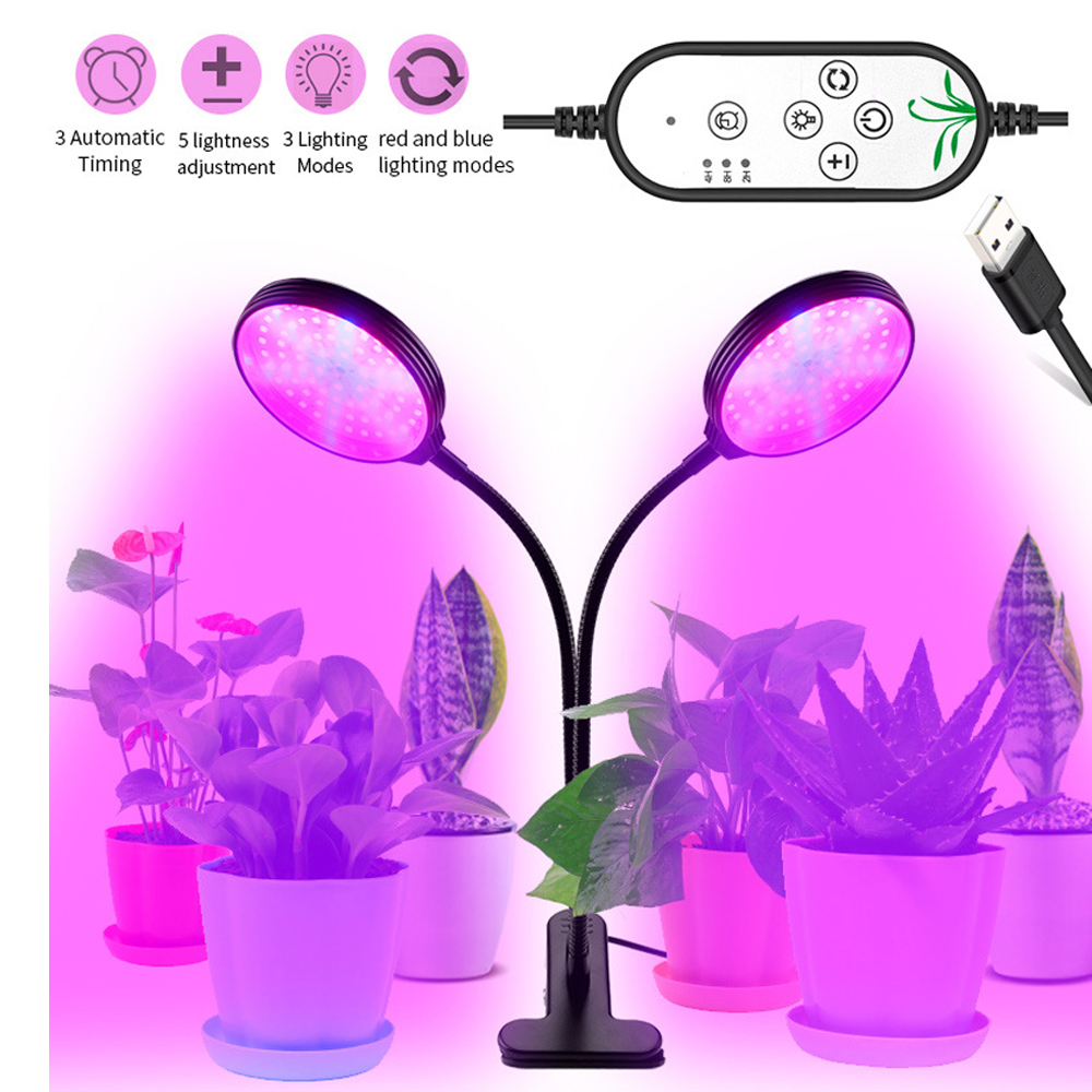 LED Grow Lights Full Spectrum Fitolampy Hydroponics Phyto Lamp E27 For Flowers Vegetables Seedlings Greenhouse Plant 30W 45W