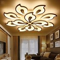 Люстры де Сала Бауайния светодиодный потолочный светильник минималистский современный личность атмосферу Освещение в гостиную обеденный