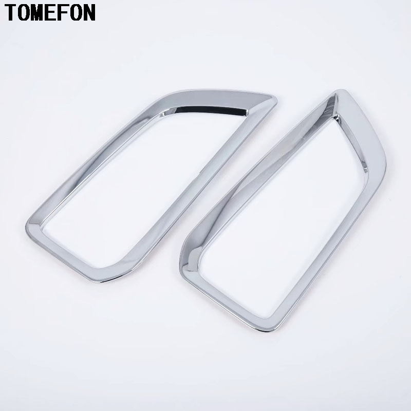 Car ABS Front Fog Light Headlight Cover trim For Hyundai Kona Encino 2018 2019