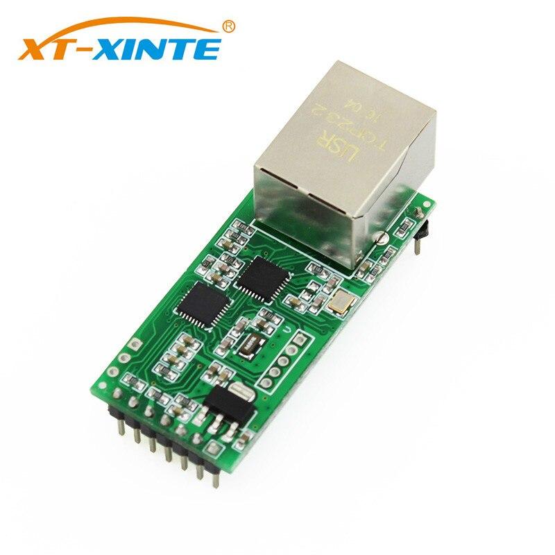 USR-TCP232-T2 Serial TTL To Ethernet Module RS232 To Ethernet TCP LP UDP Network Converter Module TTL Lan Module With RJ45 Port