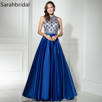 Luxurious Ever Pretty Evening Dresses 2017 A Line Zipper Floor Length Sexy Back High Collar Beading