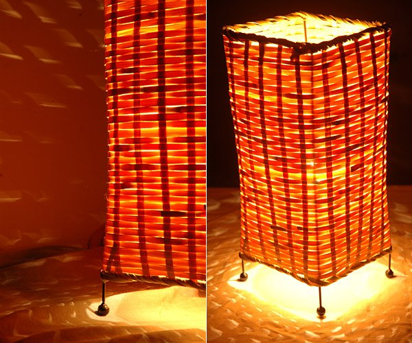 gift rose Picture - More Detailed Picture about bamboo lampshade ...