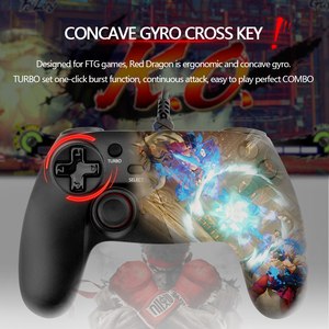 Image 2 - Redragon G807 12 button Wired Gamepad For Nintendo Switch Playstation PC PS2 PS3 Controller Joystick Android with Triggers