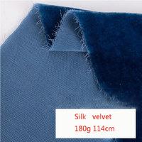 High grade spot silk woven velvet high grade silk fabric without elastic high end velvet