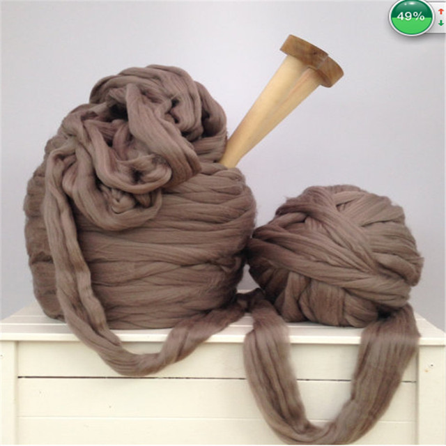 Low Price Wholesale Super Chunky Merino Wool Yarn For Chunky