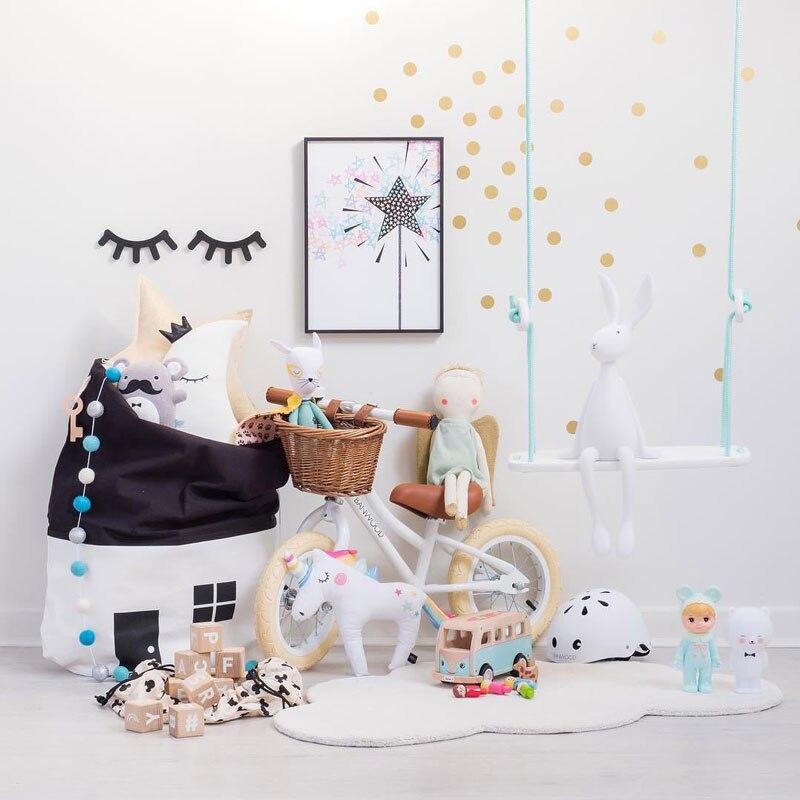 Mintgroen Accessoires Huis.Goede Kopen Zwart En Wit Kleine Huis Beam Poort Organizer Speelgoed