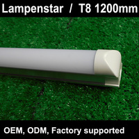 T8 Led Tube 1200mm Light 18W120cm 4Ft 1 2m G13 With Holder Fixture High Power SMD2835