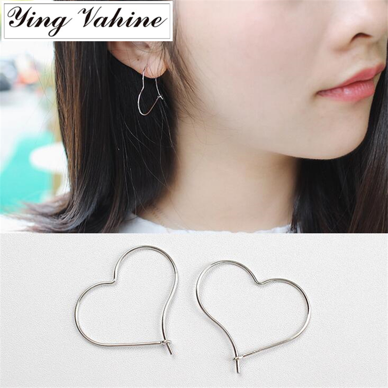925 Sterling Silver Jewelry Classic Big Hollow Heart Shape Stud Earrings for Women Pierced Earrings orecchini925 Sterling Silver Jewelry Classic Big Hollow Heart Shape Stud Earrings for Women Pierced Earrings orecchini