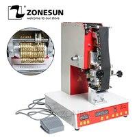 ZONESUN Роллинг ленточный принтер электрический горячий термопечатная машина номер токарный принтер Срок годности принтер Дата принтер