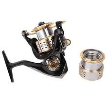 Tsurinoya釣りリールスピニングリール最大ドラグ6キログラム9ボールベアリング釣りコイル1スペアスプール高品質