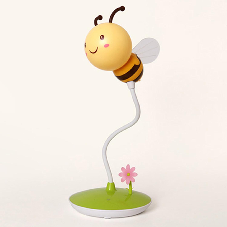 GemäßIgt Bmby FÜhrte Biene Nachtlicht 6 Vusb Ladung Berühren Tischleuchte Dimmbar Baby Fütterung Schlaf Schlafzimmer Nachtlicht Wohnkultur Creati Licht & Beleuchtung