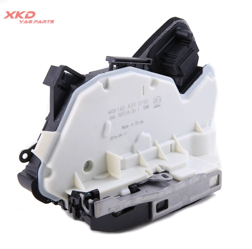 7 Pin Rear Left Door Lock Latch Actuator Fit For E Golf Golf MK7 6 Je