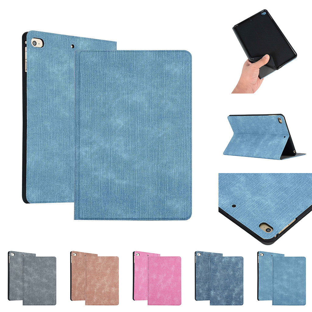 For Apple ipad 2 3 4 Case Auto Flip Litchi PU Leather Cover For New ipad 2 ipad 4 Smart Stand Holder Folio Case(China)