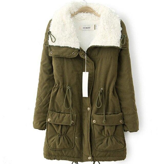 Manteau d'hiver chaud peluche en et femme pour TZlXOPkuwi