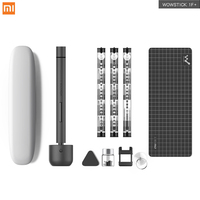 Xiaomi Wowstick 1FS 1F+ 1F Pro Mini Lithium Electric Screwdriver Alloy Body 3 LED Light Cordless Battery Power with 56Bits Smart Remote Control