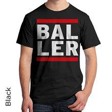 BALLER Graphic T-Shirt 80s Retro Shirt DJ Music Urban Hip Hop Harajuku Tops Fashion Classic Unique t-Shirt gift free shipping