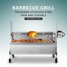 Купить с кэшбэком ITOP Electric Automatic BBQ Grill Manual Spinning Charcoal Kebab Bake Grill Stove Trolley Lamp Rotisserie Spit Roaster Grill