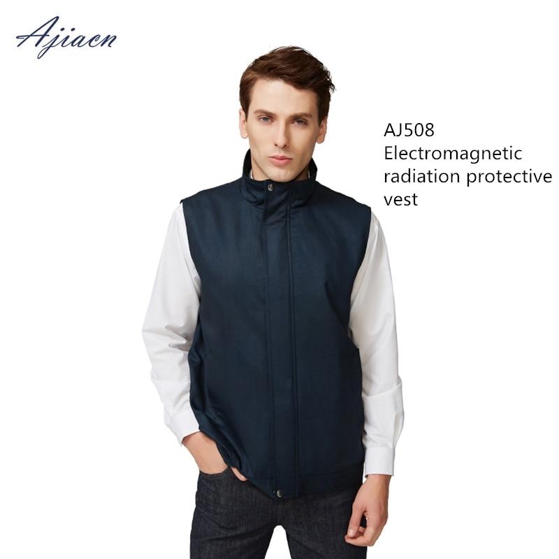 8a70ace265ad1 Factory Genuine electromagnetic radiation protection men vest EMF shielding  anti-radiation sleeveless jacket