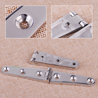 CITALL Durable 2pcs 6 316 Stainless Steel Cast Strap Hinge Boat Marine Hardware Fitting Accessories