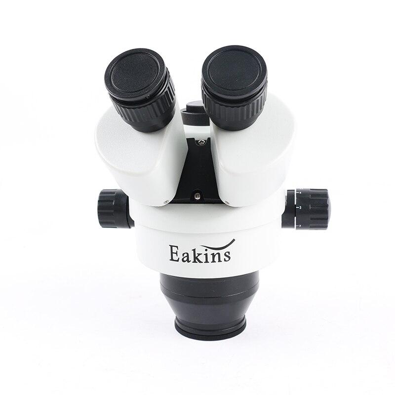 Microscope stéréo trinoculaire professionnel simul-focal Zoom Vertical 3.5X-90X + caméra de Microscope HDMI/VGA 14MP pour le soudage des circuits imprimés - 3