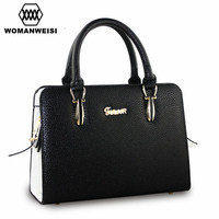 Woman Famous Brand Handbags 2016 New Design 8 Colors High Quality PU Leather Women Messenger Bags