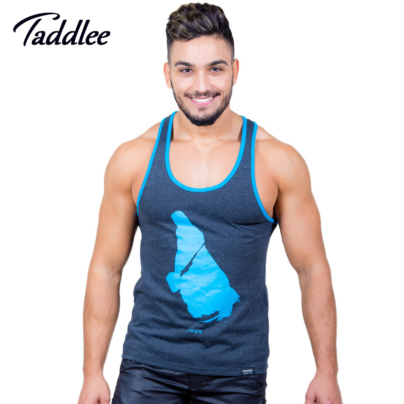 Taddlee Brand Mens Tank Top Tees Shirts Sleeveless Casual Undershirts Fitness Stringers Singlets Vest Bodybuilding Gasp Muscle