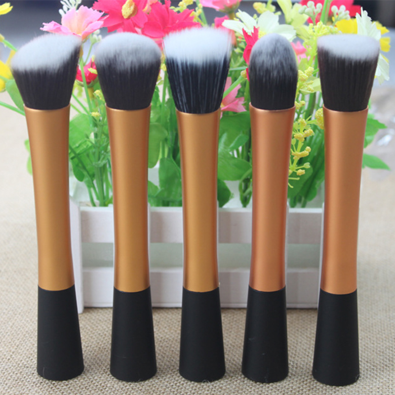 5pcs/set Professional Powder Blush Brush Facial Care Cosmetics Foundation Brush Beauty Makeup Brushes Tools Make up Set jessup 5pcs black gold makeup brushes sets high quality beauty kits kabuki foundation powder blush make up brush cosmetics tool