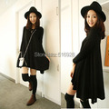 Maternity dresses fashion one-piece clothing for pregnant women autumn winter top tees basic skirt Bottoming