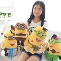 1 pcs newest 3D Eyes minion plush toys  Despicable Me minions toys doll  anime cute toy soft plush toy for kids birthday gifts