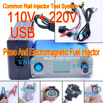 2018 ERIKC common rail fuel injector tester Support Electromagnetic and piezo injector , new CRI100 injector tester