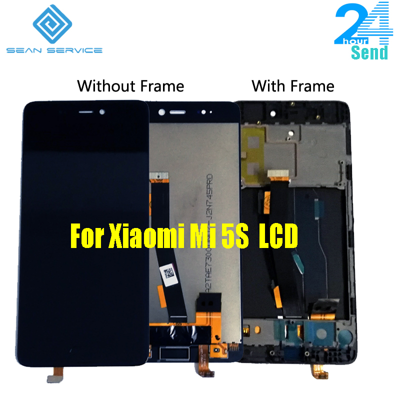 For Xiaomi Mi 5S LCD Display With Touch Screen Digitizer Assembly Replacement Parts For Xiaomi Mi5S Mi 5S LCD Tempered Glass