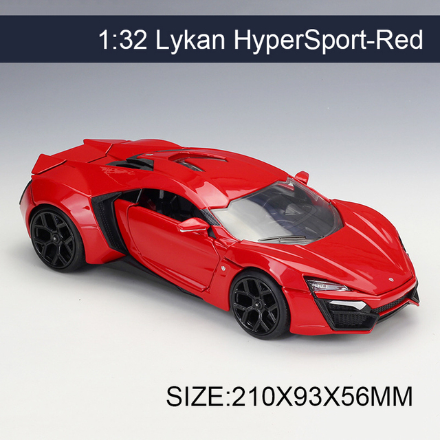 Aliexpresscom  Buy 124 Model Car HyperSport Red Metal Vehicle