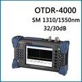 Ruiyan Digtial SM OTDR RY-OT4000 Testador de Fibra Óptica 1310nm/1550nm 32/30dB 80-100 KM Com 5 mW Localizador Visual de Falhas (VFL)
