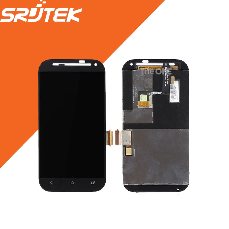 4.3 High Quality 800x480 For HTC Desire SV T326E LCD Display + Touch Screen Digitizer Full Assembly For HTC SV T326e Black