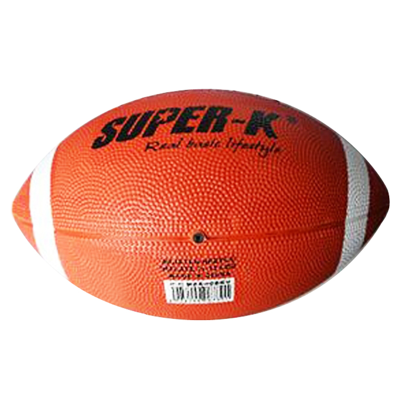 Soft Rubber American Football No. 9# Rugby Ball Safety Sport Balls for Child Kids Young Men Women American Football ball flashing jumping ball outdoor fun sport toy bouncing balls for kids child sport movement ankle skip color rotating ball 5 color