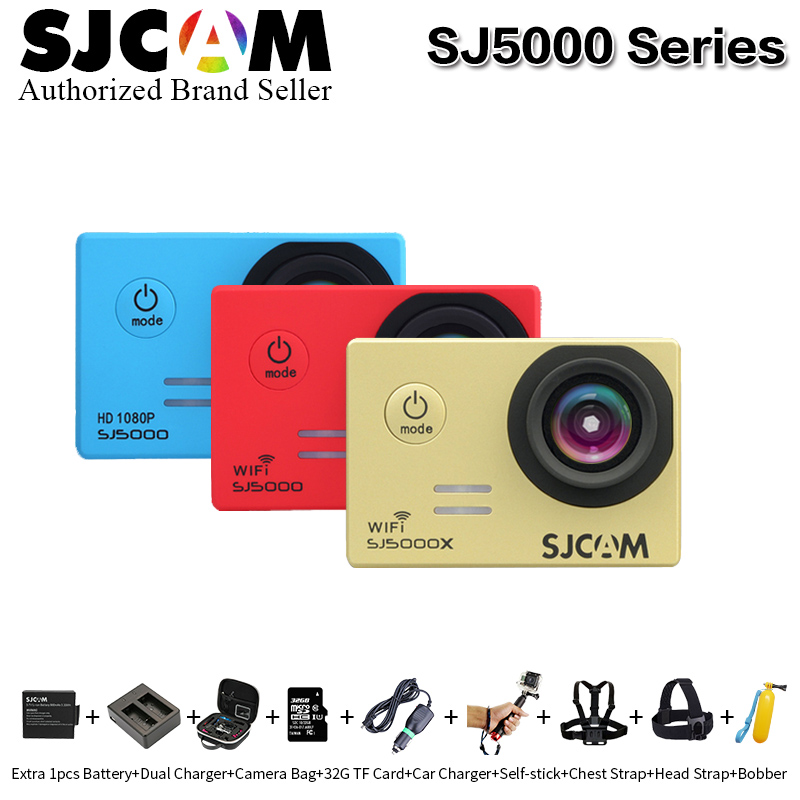 Original SJCAM series SJ5000&SJ5000 WiFi&SJ5000X Elite WiFi 4K 24fps 2K30fps Gyro Sports DV Waterproof action camera VS go pro c круг алмазный по керамике 1a1r ceramics elite 200x1 6x7 0x25 4 diam 000547