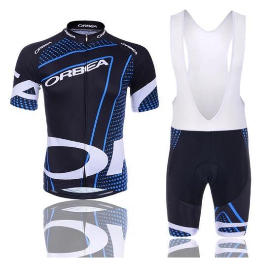 Camiseta de Ciclismo de secado rápido GEL Pad 2017 marca Orbea Pro equipo de manga corta Ciclismo Maillot Ropa Ciclismo