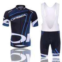 Quick Dry Cycling Jersey GEL Pad 2017 Brand Orbea Pro Team Short Sleeve Cycling Jersey Maillot