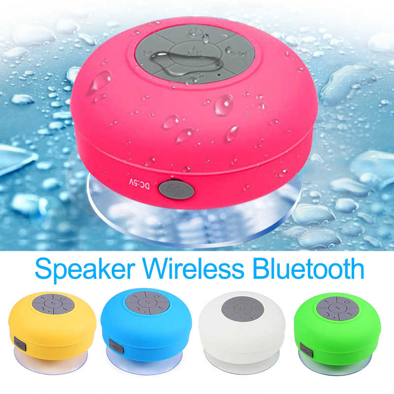 Portable Mini Bluetooth Speaker Hands Free Waterproof Wireless Speakers For Bathroom Showers Subwoofer Music Loudspeaker