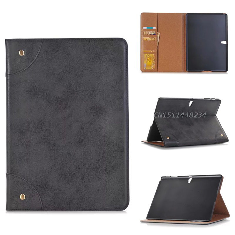 High quality fashion Luxury for Samsung Galaxy Tab S 10.5 inch Tablet Book Cover pu Leather Smart Case SM-T800 T805C+Stylus fashion painted flip pu leather for samsung galaxy tab a 10 1 sm t580 t585 t580n 10 1 inch tablet smart case cover pen film