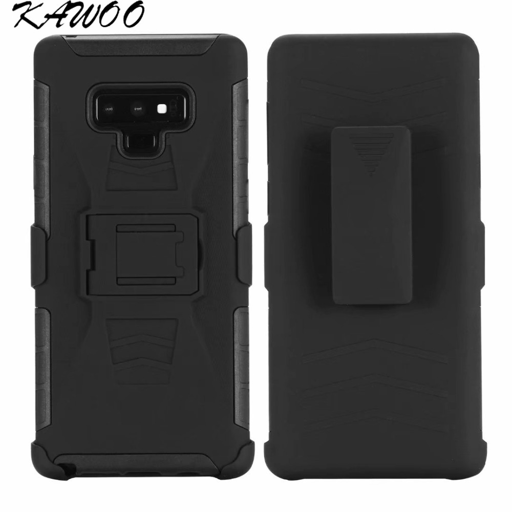 Heavy Duty Holster Defender Swivel Belt Clip Armor Case For Samsung Galaxy Note 9 A5 A6 J3 J7 2018 Shockproof Cover For S8 S9 A7 Fashionable(In) Style;