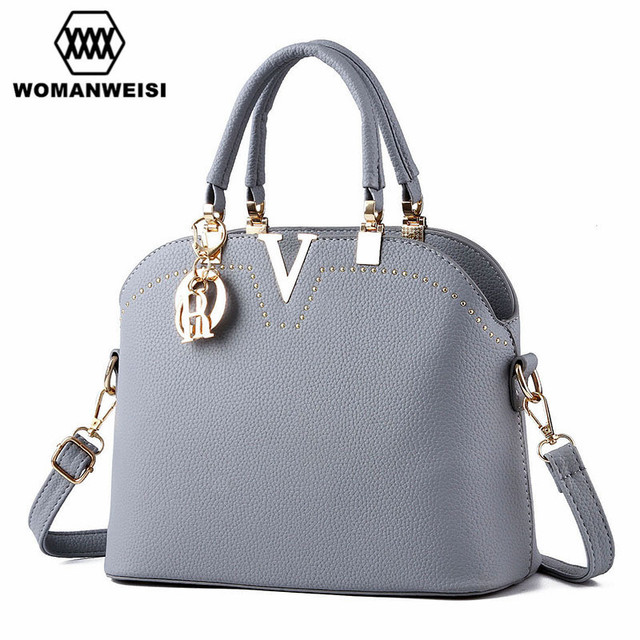 Women Leather Handbags Famous Brand Designer 2017 Cheap Sale Ladies Messenger Shoulder Bags Luxury Satchel Hobo Bag Cross-Body