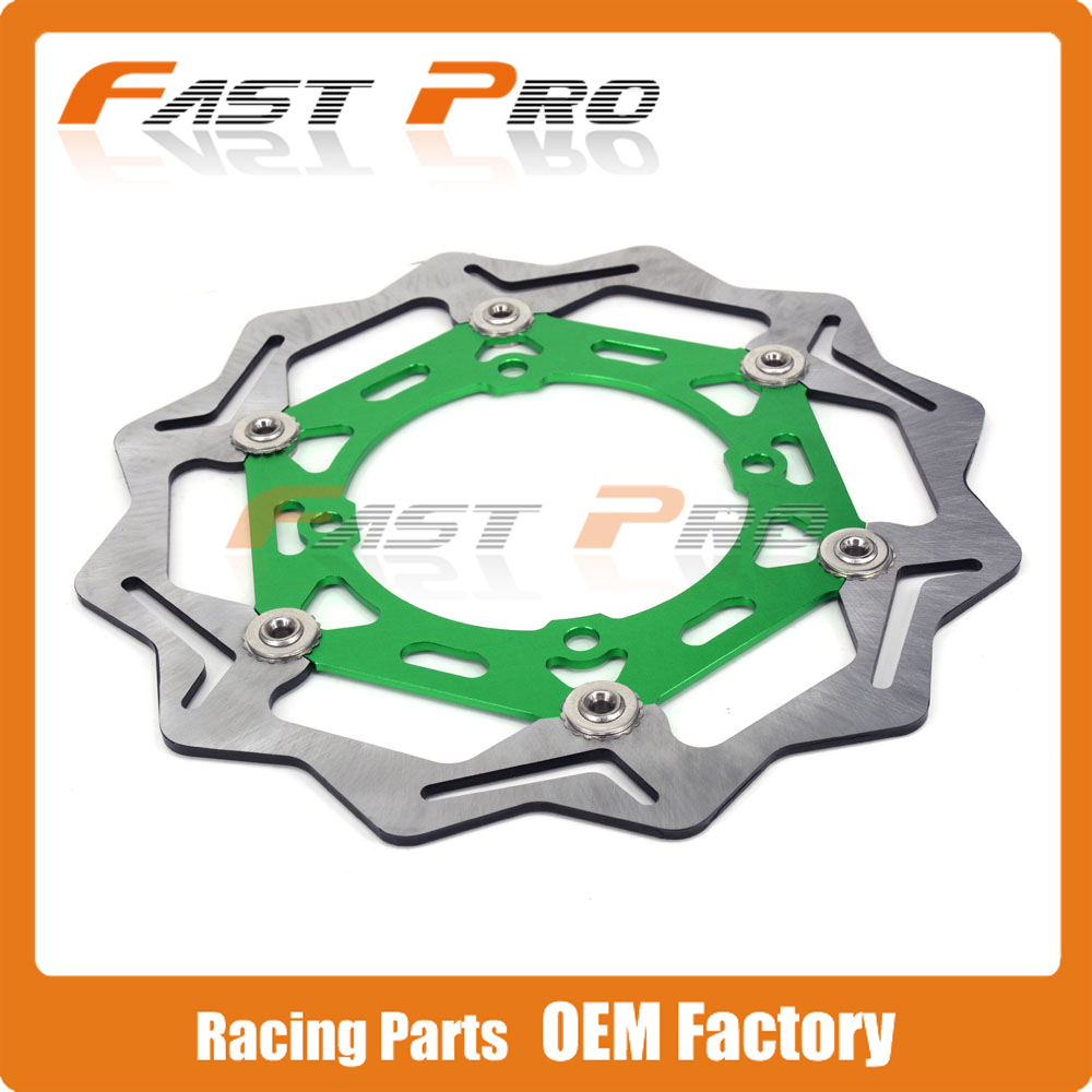 270MM Front Floating Brake Disc Rotor For KAWASAKI KX125 KX250 2006-2008 KX250F KXF250 KX450F KXF450 2006-2015 KLX450R 2007-2015