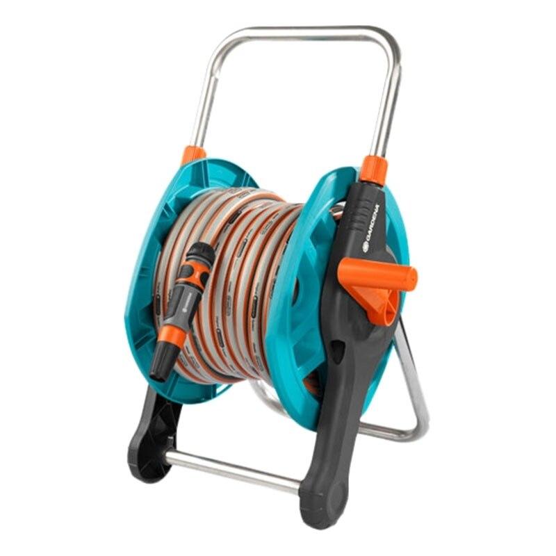 Set поливочный GARDENA 02691-20.000.00 (Hose 20 m, swivel axis, protection from течи, tip for watering) стоимость