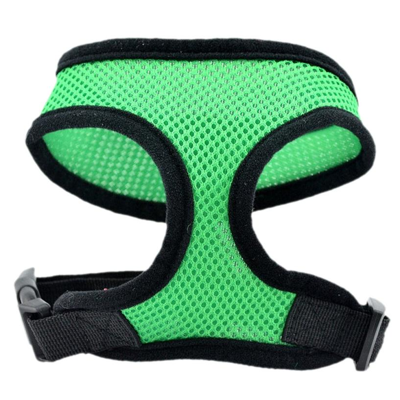 Dog Vests Careful Dog Harness Vest Mesh Harness Lead Chest Dog Summer Clothes Dog Life Vest Pet Tshirt Accessories #810 Pet Products