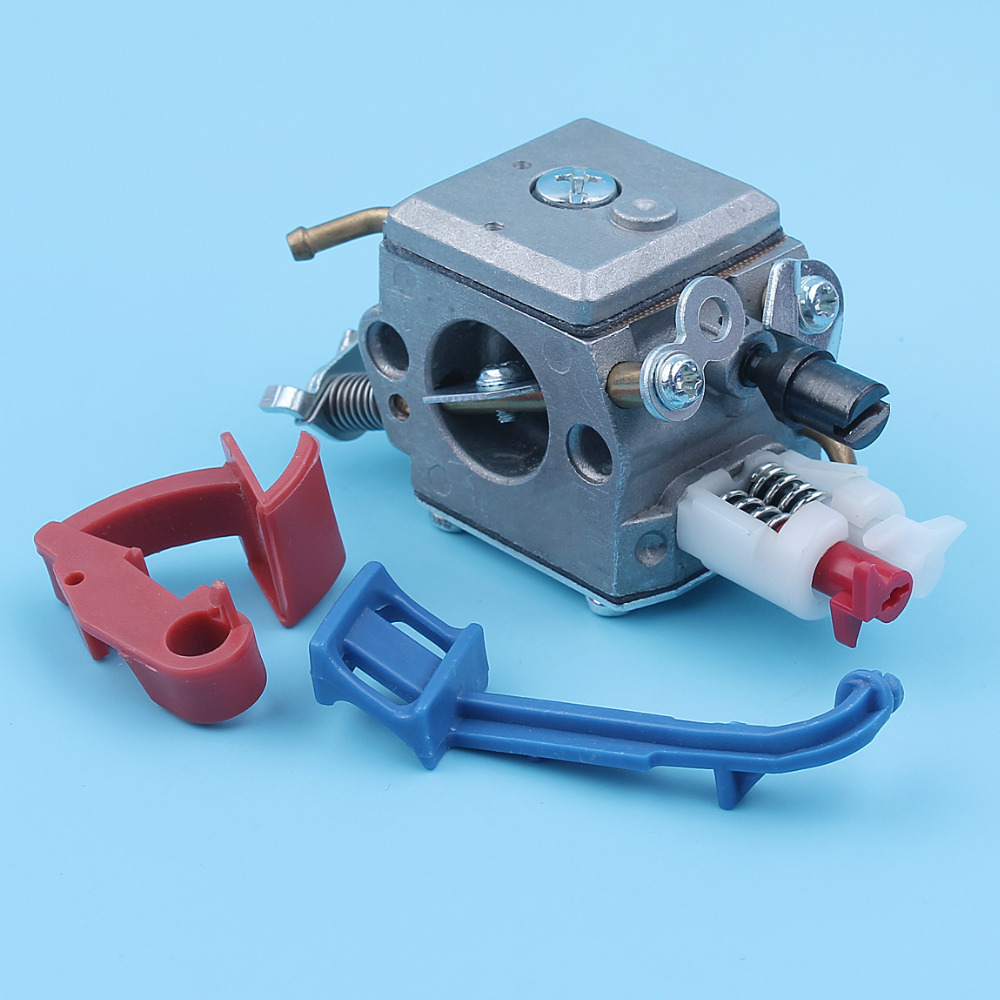 Carburetor Choke Rod Lever Switch Control Kit For Husqvarna 357XP 357 359 359EPA Chainsaw 2 Fuel line Style Spare Part