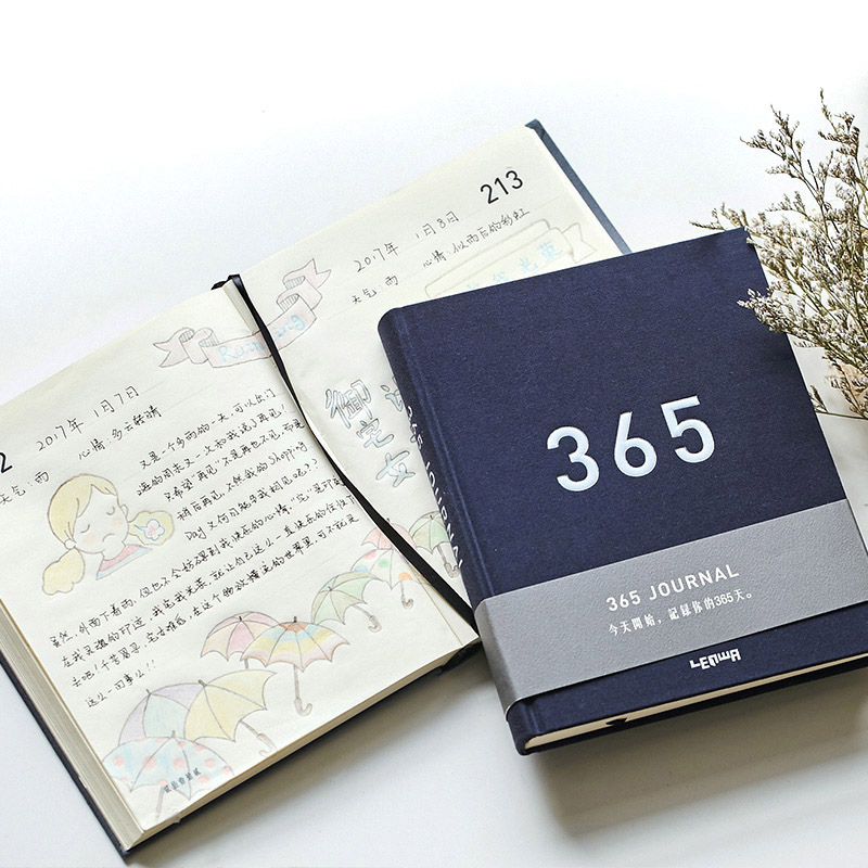 Creative mini sketchbook daily writing pads kawaii diary memo pad 365 days schedule notebook school office supplies planner