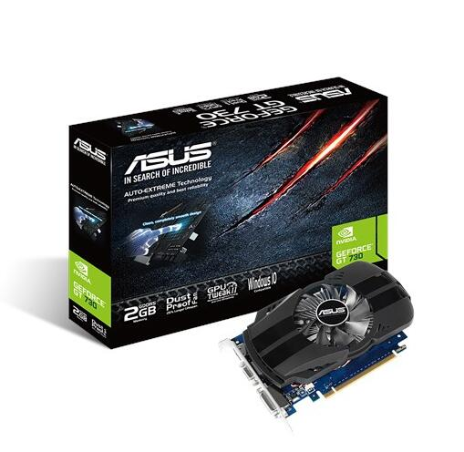 Asus GT730-FML-2GD5 2GB 64bit DDR5 PCI-E 3.0 Graphics Cards  VGA DVI HIDMIAsus GT730-FML-2GD5 2GB 64bit DDR5 PCI-E 3.0 Graphics Cards  VGA DVI HIDMI